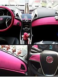 1,35 * 1m 8 cores de camurça tecido de veludo veludo filme carro filme carro adesivo autocolante interior decoração do corpo do carro de