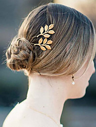 Женский Для девочек Заставка-Свадьба Особые случаи На каждый день Шпилька Заколка для волос
