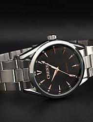 Chenxi subiu homens de negócios clássico agulha relógio de ouro