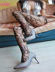 Women New Hot Sexy Black Fishnet Pantyhose Ladies Stockings Tights Sheer for girls Retro Totem Free shipping