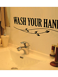 Wall Stickers Wall Decals,  English Words& Quotes PVC Wall Stickers
