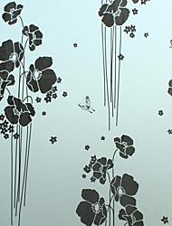 Classic Black Love Of Butterfly Window Film