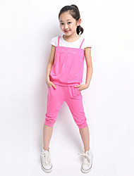 Girl's Summer Cotton Clothing Sets(More Color)