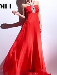 Maxi - Vestido - Seda - Forrado