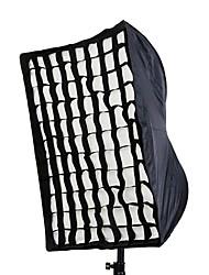 """50 x 70 cm / 20 """", 28"""" Fotografie Dach Rechteck Softbox mit Gitter für Speedlight / Flash-"""