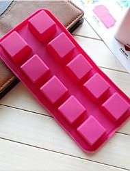 Fashiom siliconen cakevorm ijs chocolade decoratie keuken bakvormen koken gereedschap (willekeurige kleur)