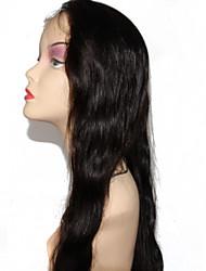 brasileiro virgem dianteira do laço do cabelo onda do corpo perucas de cabelo humano natural preto para as mulheres negras