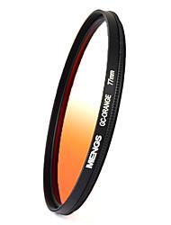 MENGS® 77mm Graduated ORANGE Filter For Canon Nikon Sony Fuji Pentax Olympus Etc DSLR Camera