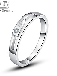 """Poetry Dreams Sterling """"Love you 1314"""" Ring Women's Ring"""