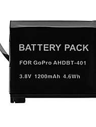1200mAh Camera Battery Pack for GOPRO AHDBT-401