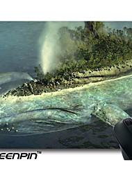 seenpin персонализированные коврики для мыши кит дизайн остров