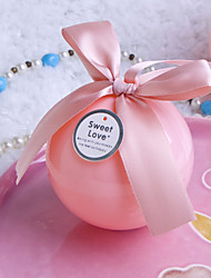 12 Piece/Set Favor Holder-Ball Plastic Favor Boxes Gift Boxes Non-personalised
