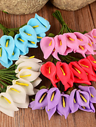 Wedding Décor Calla Flower Simulation Accessories (Set of 50 Random Distribution)