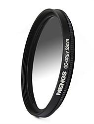 MENGS® 52mm Graduated GREY Filter For Canon Nikon Sony Fuji Pentax Olympus Etc Digital And DSLR Camera