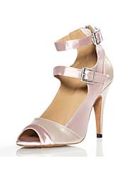 Zapatos de baile ( Rosado ) - Latino / Salsa - No Personalizable - Tacón de estilete