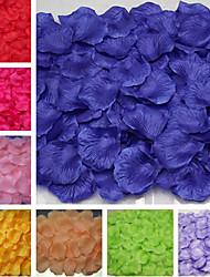 Set of 100 Petals Rose Petals Table Decoration (Assorted Color) Peacock Wedding