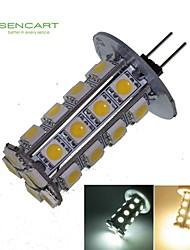 6W G4 Faretti LED T 30 SMD 5050 550-650 lm Bianco caldo / Luce fredda Decorativo DC 12 V 1 pezzo