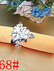 6Pcs Leaf Napkin Ring