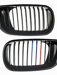 m-cor brilhante rim grade grade preta para bmw e46 4 portas 02-06