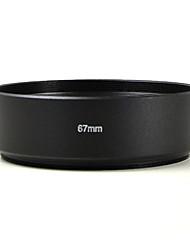 mengs® 67mm de aluminio cubierta del objetivo estándar para Canon Nikon Sony Olympus etc todo tipo de cámaras digitales y réflex digital.