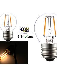 2 pçs ONDENN E26/E27 2 COB 200 LM Branco Quente G45 edison Vintage Lâmpadas de Filamento de LED AC 220-240 / AC 110-130 V