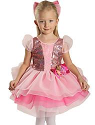 Vestidos (Rosa , Nylón/Spandex/Tul , Ballet) - Ballet - para Niños