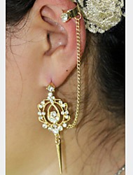 Fashion As Picture Alloy Hoop Earrings(As Picture) (1 Pc)