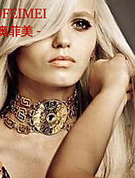 European and American metal chain necklace coarse clothing accessories