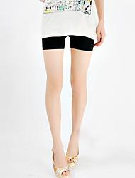 Femme Couleur Pleine Shorts & Slips GarçonSoie Glacée