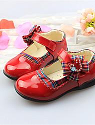 Bailarinas ( Negro/Rojo ) - Comfort - Piel