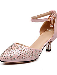 Women's Shoes Glitter Stiletto Heel Pointed Toe Pumps Shoes with Chain Dress More Colors available