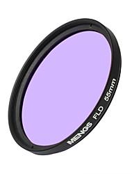 MENGS® 55mm FLD Fluorescent Filter For Canon Sony Nikon Fuji Pentax Olympus Etc Digital Camera