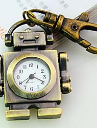 Frauen neue Explosion Roboterform Wahl Quarz Mode Quarz Schlüsselbund Uhr