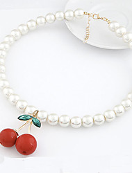 Vintage / Party / Casual Alloy / Imitation Pearl Pendant Necklace