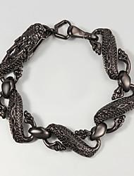 Black Dragon Design Animal Bracelet