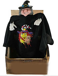 Novelty frighten a funny moving the wooden toys The electric flash black dress person