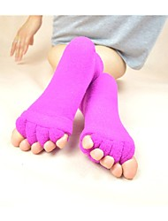 Indoor Massage Toe Socks Assorted Color