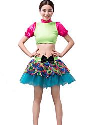 Women's/Children's Performance Latin Dance Tops/Tutus