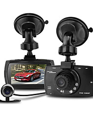 "Allwinner Dual Lens 2.7"" 1.3M CMOS 1080P HD 140 Degree Car Camcorder DVR Registrator H.264 G30B"
