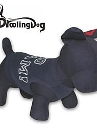 T-shirt für Hunde / Katzen Schwarz Frühling/Herbst XS / S / M / L Baumwolle