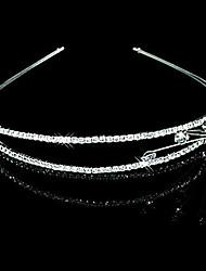 Women's/Flower Girl's Rhinestone/Alloy Headpiece - Wedding/Special Occasion/Casual Tiaras/Headbands