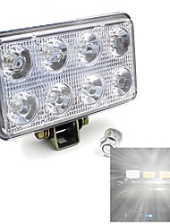 12V 24V 24W 1600LM LED Work Light Lamp For SUV Car Truck Tractor Trailer Nice