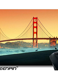 SEENPIN Personalized Mouse Pads Golden Gate Bridge Design