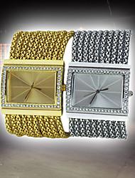 Lady Girl Style Stylish Elegant Diamond Wrist Watch Quartz Movement