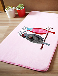 "Bath Mat Modern Memory Foam ""Love Bird"" W20"" x L31""- Multi-colours Available"