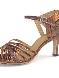 Scarpe da ballo Donna - Latinoamericano - Customized Heel - Pelle - Altro