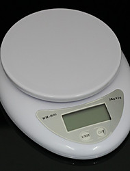Electronic Kitchen Weight Scale 5Kg 1g 16.3*12.8*3.2 cm