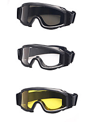 Ballistic 3 Lenses Military Goggles Night Vision