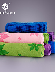 Yoga Toalhas Non Slip / Pegajoso / Non Toxic / Secagem Rápida Superfine fiber Rosa / Verde / Azul Escuro / Roxo Escuro