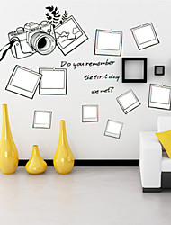 Wall Stickers Wall Decals , Camera Frame PVC Wall Stickers